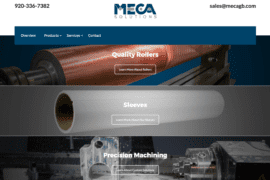 MECA Solutions website 2017