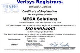 MECA ISO Certification
