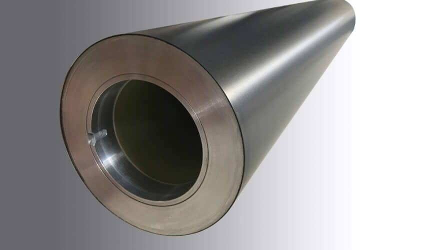 MECA Precision Rolls and Machining carbon fiber sleeves